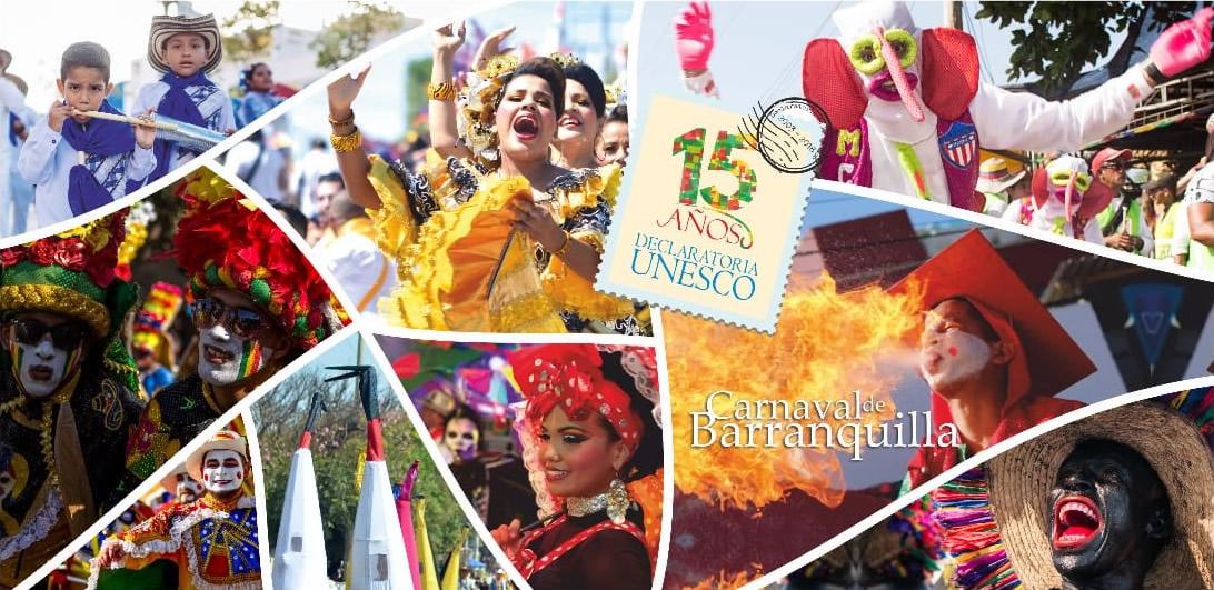 Carnaval De Barranquilla Celebra 15 Años Como Patrimonio De La Humanidad Región Caribe